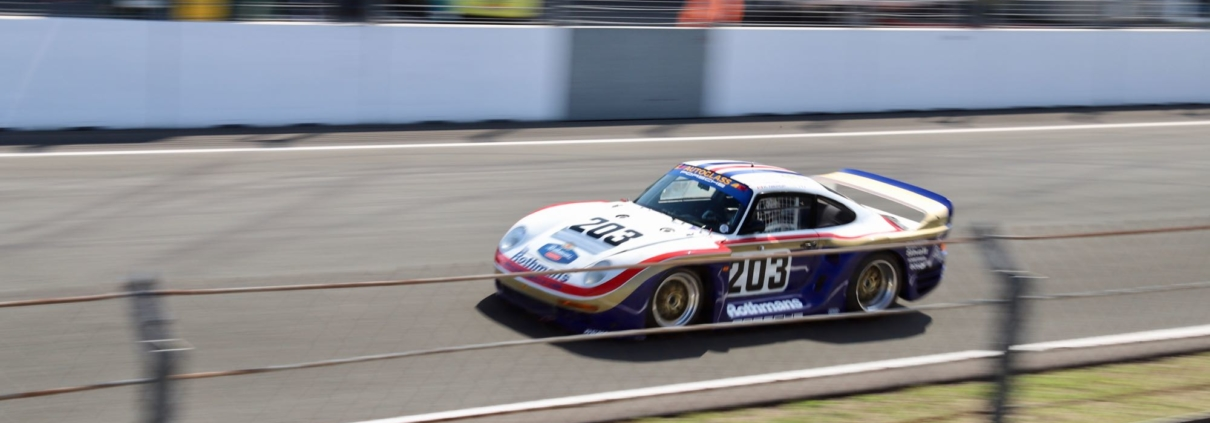 Historic Grandprix Zandvoort Porsche 961 Rothmans