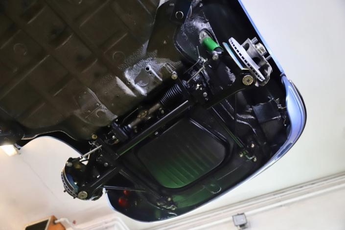 Achsüberholung Vorderachse Porsche 911 T F-Modell