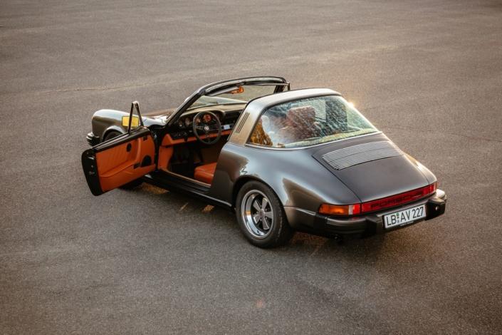 1984 Porsche 3.2 Carrera Targa Dolomitgrau