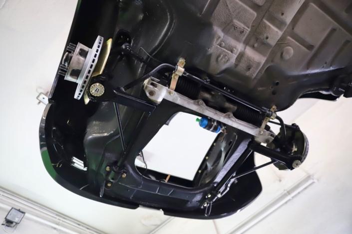 Achsüberholung Porsche 911 SC Vorderachse
