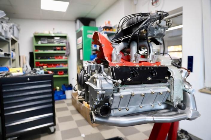 Wartung Restaurierung 3.0 Carrera Motor 200 PS