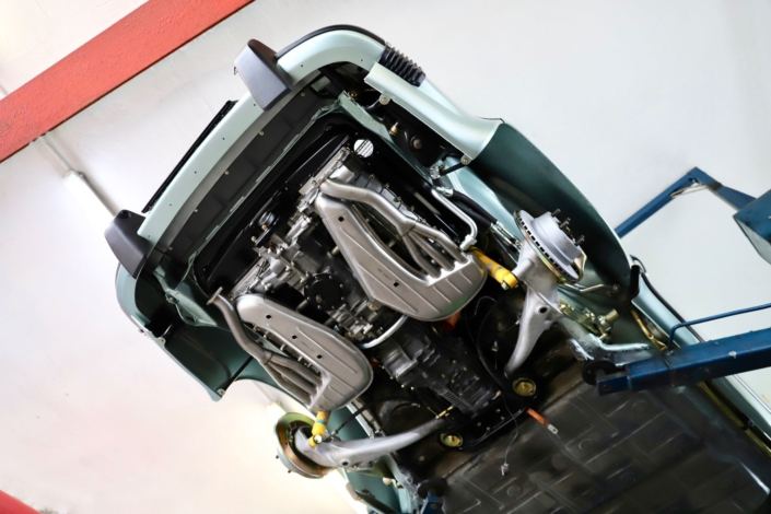 Montage Sportabgasanlage Edelstahl Porsche 911