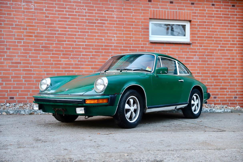 1976 Porsche 911S Coupé Irischgrün Fuchsfelgen