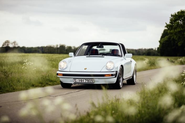 1983 Porsche 911 SC Targa Gletscherblau